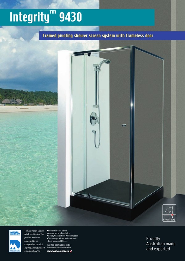Shower Screens, Glass Shower Screen